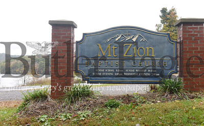 Harold Aughton/Butler Eagle: Mt. Zion Baptist Church will celebrates its 200th anniversary, Sunday, Oct. 20.