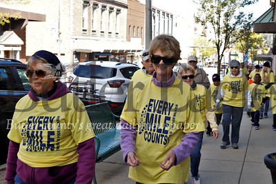 2019 St. Vincent de Pauls Friends of the Poor walk down Main St. in Butler. Seb Foltz/Butler Eagle