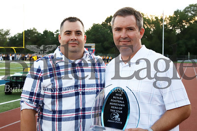Butler 2019 Hometown Hero Of the Year Jason Cherry and his brother Justin. Seb Foltz/Butler