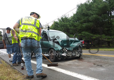 crash this morning on Onedia Valley Road