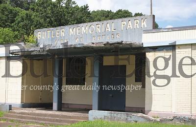 Old Butler Memorial Park pool. Seb Foltz/Butler Eagle 08/04/20