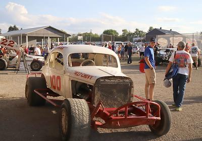 Vintage cars at Lernerville. Seb Foltz/Butler Eagle