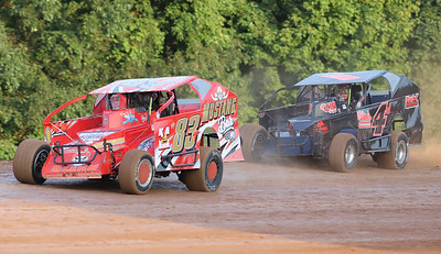 Wild art from Lernerville 08/14/20  #4 car won the heat. Seb Foltz/Butler Eagle