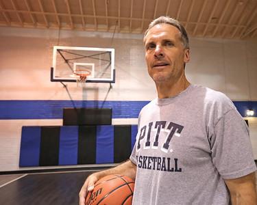 Knoch head basketball coach Ron McNabb.  Seb Foltz/Butler Eagle
