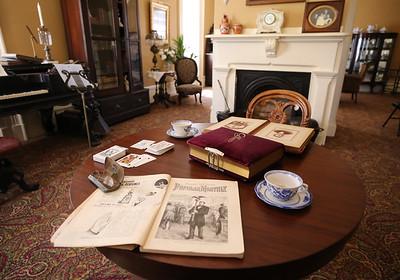 Lowrie House living room. Seb Foltz/Butler Eagle