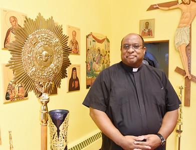 Harold Aughton/Butler Eagle: Rev. Marty Johnson St. Anthony's Antiochian Church