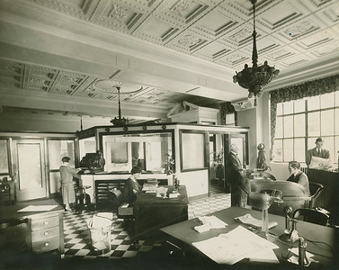 Eagle File Photo. Butler Eagle Front Counter. November 3, 1968.