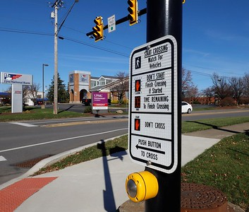 Route 19 & St. Francis Way crosswalk by Cranberry Passavant. Seb Foltz/Butler Eagle