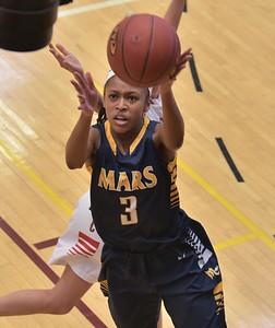 49290 Mars vs Archbishop Carroll PIAA 5A girls basketball championship Semi-Finals game at State College High School