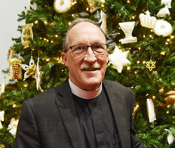 Pastor David Phillips, St. Mark's Lutheran Church, Harold Aughton/Butler Eagle.