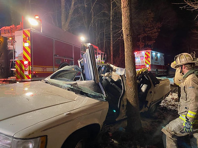 Attached are photos of Wednesday morning's crash on Route 528. Photos courtesy of Nathan Wulff .