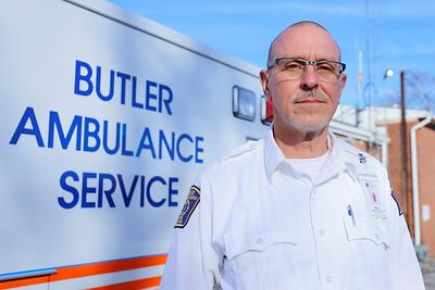 Gene Troyan, Butler Ambulance Service director of Operations. Seb Foltz/Butler Eagle Dec. 2020