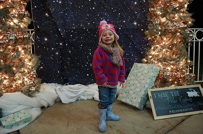 585 -- The Junior Women's Club of Butler held their Polar Express Chirstmas event in Alameda Park on Saturday night.