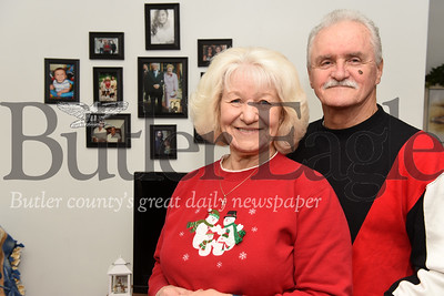 Harold Aughton/Butler Eagle: Mike and Maryella Metrick