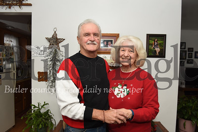 Harold Aughton/Butler Eagle: Mike and Maryella Metrick