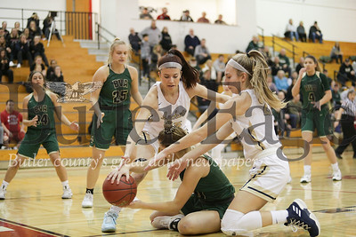 Freeport vs Belle Vernon Girls Basketball Playoffs