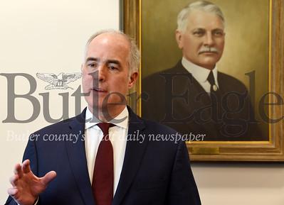 Harold Aughton/Butler Eagle: Senator Bob Casey