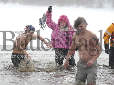 2012 Groundhog plunge at moraine state park