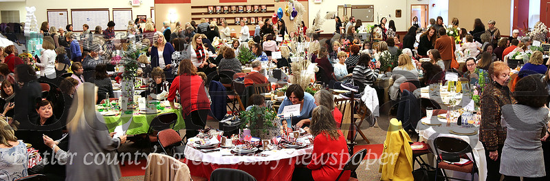 A portion of a crowd of 250 is shown Sunday, Jan. 26, 2020, during the Luncheon for Literacy sponsored by the Rotary Club of Butler PM and held in Founders Hall on Butler County Community College's main campus in Butler Township. The Luncheon for Literacy raises funds to benefit BC3's adult literacy program.