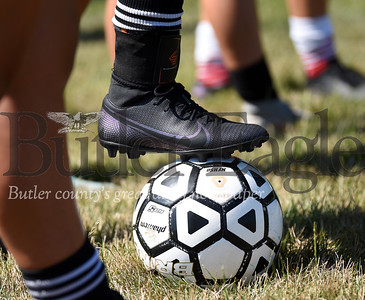 Harold Aughton/Butler Eagle: Soccer Camp Renfrew, July 15, 2020.