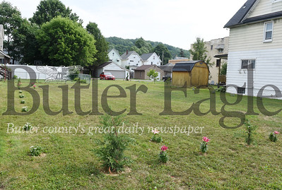 Harold Aughton/Butler Eagle: Chase Sorrells purchased two property's at 522 and 524 on west Brady Street in Butler as an anniversary gift for his wife, Jalyne Sorrells.