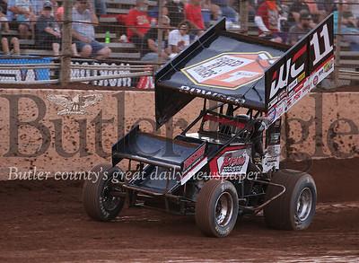 Need resized and captioned 57 car Kyle Larson11 car Carl Bowser (local)J4 car John Garvin (local)