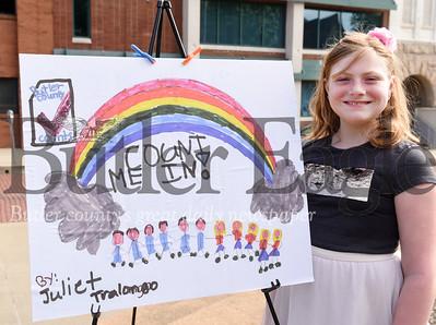 Harold Aughton/Butler Eagle: Juliet Tralongo, 3rd grader Haine Elementary