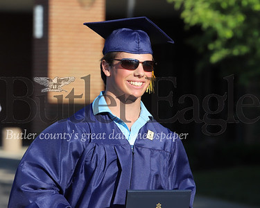Cody Killian, Mars graduation 2020. Seb Foltz/Butler Eagle