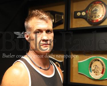 Retired pro boxer Brian Minto. Seb Foltz/Butler Eagle 06/23/20