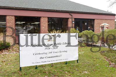 Harold Aughton/Butler Eagle: Zelienople Area Public Library celebrates 100 years of service.