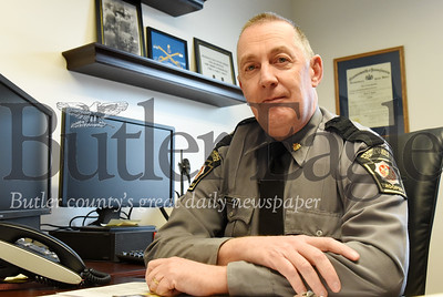 Harold Aughton/Butler Eagle: PSP Captain Steve Ignatz of Butler Troop D has been promoted to major and will oversee the Harrisburg post.
