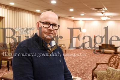 Harold Aughton/Butler Eagle: Tom Martin, Martin Funeral Home.