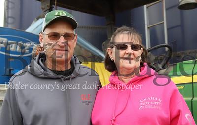 Leroy and Mary Bergbigler. Seb Foltz/Butler Eagle