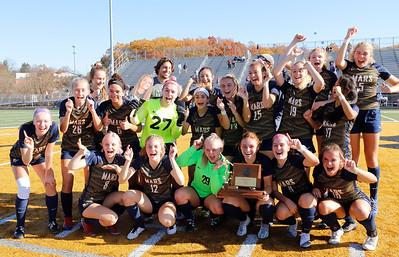 Mars girls soccer 2020 WPIAL Champions. Seb Foltz/Butler Eagle