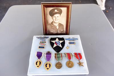 Frank Herman served in WW II  Harold Aughton/Butler Eagle