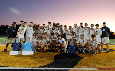 WPIAL AAAA Champion Seneca Valley Boys Soccer Team. Seb Foltz/Butler Eagle 2020