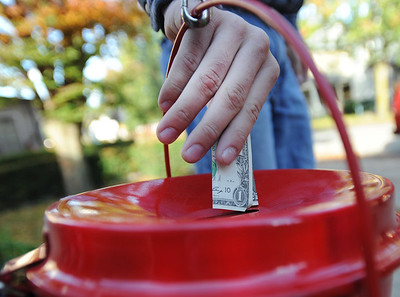 63016 Salvation Army holiday kettle drive