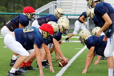 Freeport football practice Sept. 3 2020. Seb Foltz/Butler Eagle