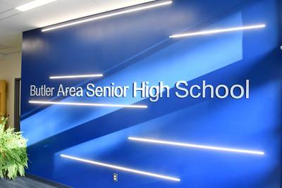 Butler School District administrative offices. Harold Aughton/Butler Eagle.