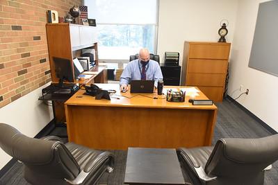 John A. Wyllie, Jr, Principal, Butler Senior High School Harold Aughton/Butler Eagle