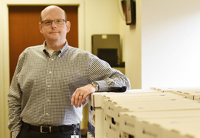 Harold Aughton/Butler Eagle: Aaron Sheasely, new bureau of elections director for Butler County.