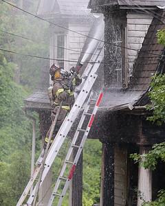 441 Mercer St. house fire. Seb Foltz/Butler Eagle Sept. 7 2020