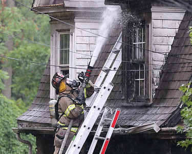 441 Mercer St. house fire. Seb Foltz/Butler Eagle Sept. 7 2020