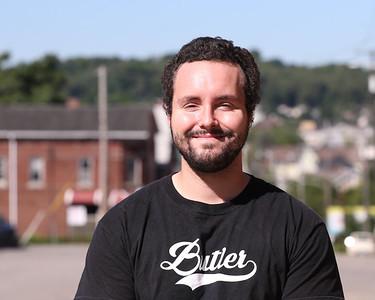 Ryan Fichter, 24, Butler Hip Hop Community artist. Seb Foltz/Butler Eagle Sept. 2020