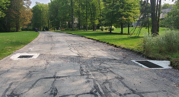 The Poplar Forest community in Slippery Rock is receiving a stormwater drainage overhaul with projects slated to continue into next year. Nathan Bottiger/Butler Eagle