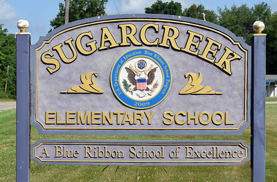 Harold Aughton/Butler Eagle: Sugarcreek Elementary may be closing under a consolidation plan by the school district.