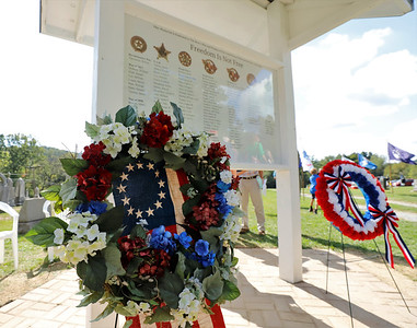 New veteran's memorial at Glade Run Cemetary. Seb Foltz/Butler Eagle