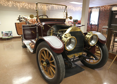 1909 Huselton on display at the Harmony Museum's Indoor Auto Show Satruday in Harmony. Seb Foltz/Butler Eagle