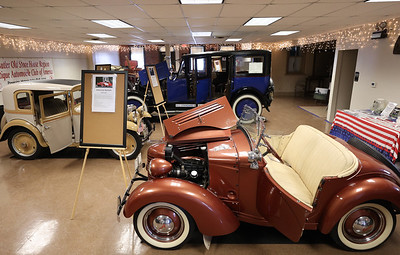 1939 Bantam Speedster built in Butler on display with other classic Butler-assembled cars at the Harmony Museum's Indoor Auto Show Satruday in Harmony. Seb Foltz/Butler Eagle