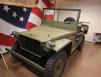 1941 BRC 40 Bantam Jeep built in Butler on display at the Harmony Museum's Indoor Auto Show Satruday in Harmony. Seb Foltz/Butler Eagle